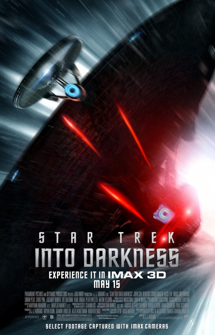 Star Trek Into Darkness IMAX poster