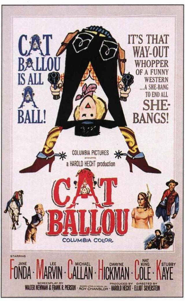 LA INGENUA EXPLOSIVA - Cat Ballou - 1965