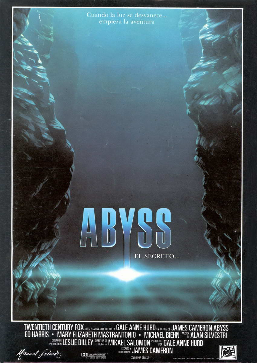the abyss  1989   grade  a